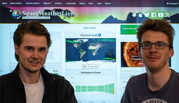 The faces behind SpaceWeatherLive