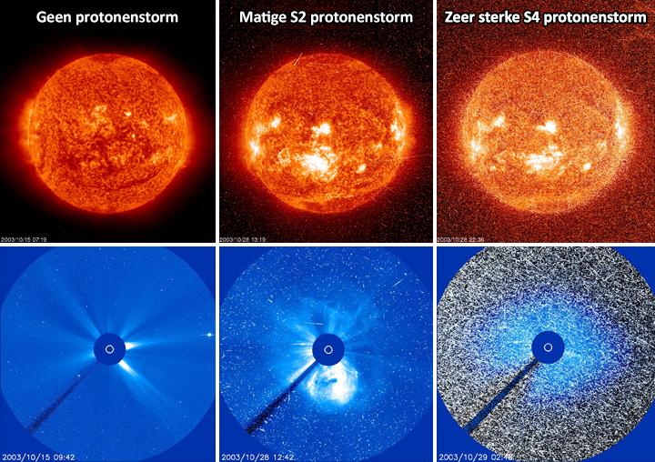 Wat is een protonenstorm? | Help | Poollicht.be