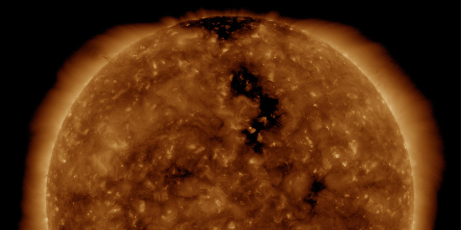 Coronal hole, Transit to Solar Cycle 25